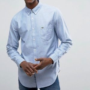 Lacoste Oxford Button Down Regular Fit Shirt